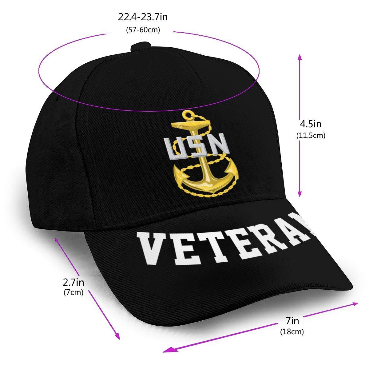 Navy Chief Petty Officer Baseball Cap Dad Hat Unisex Classic Sports Hat Peaked Cap Veteran Hat
