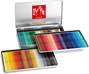 Caran D'ache Supracolor Pencil Set, 120/Tin (J3888420)