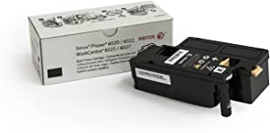 Xerox Phaser 6020/6022/Workcentre 6025/6027 Black Standard Capacity Toner Cartridge (2,000 Pages) - 106R02759