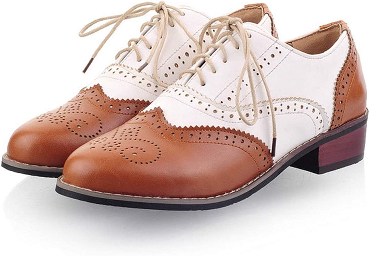 New 2019 Womens Flats Shoes Mixed Color Leather Oxfords Vintage Casual Shoes Spring Autumn Women Oxford Shoe Black