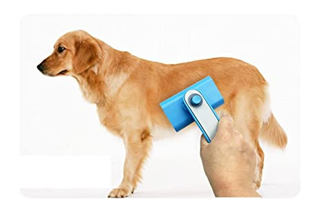 Apto para perros y gatos, carding y masaje, mascotas peine, peine el pelo del perro es ...