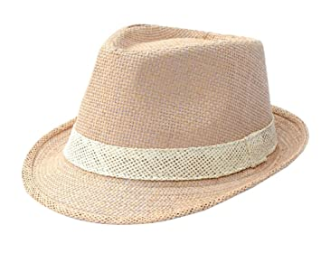 a9cd7a271e4fd Image Unavailable. Image not available for. Colour  East Majik Straw Boater  Beach Sun Hat Homburg Fedora Hat
