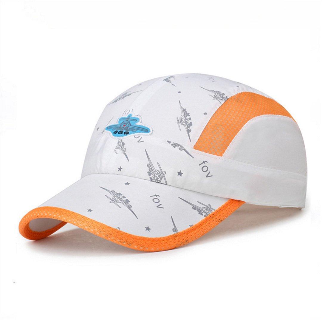Eleganty Kids Quick Drying Sun Hat, Adjustable Airy Mesh UV Protection Baseball Caps