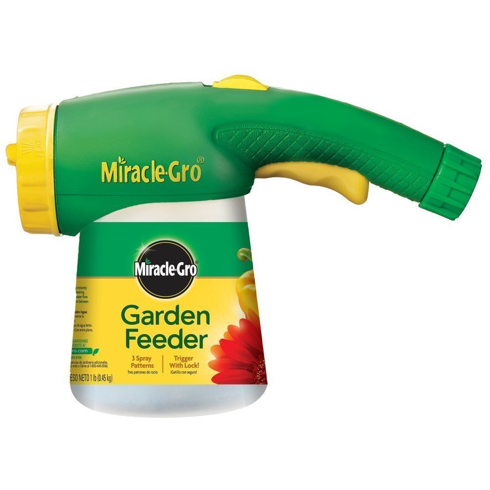 Miracle-Gro 100410 Garden Feeder with 1-Pound Miracle-Gro All Purpose Plant Food (Plant Fertilizer)(2pack) by Outdoor Living (Image #1)