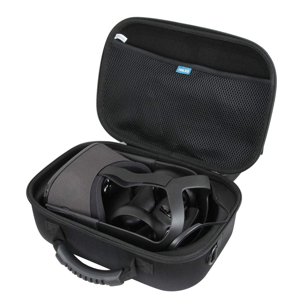 Anleo Hard EVA Travel Case for Oculus Quest All-in-one VR Gaming Headset by Anleo
