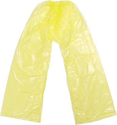 Pretyzoom Pantalones Impermeables De Lluvia Ropa De Proteccion De Ropa De Lluvia Gruesa Desechable Pantalones Impermeables Para Exteriores Amazon Es Ropa Y Accesorios