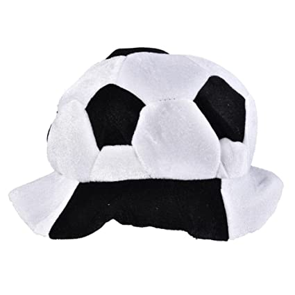 8f705d79f1f53d Vbestlife World Cup Soccer Hats Fans Party Football Shape Hat Soccer Match  Cheering Cap, Multicolor