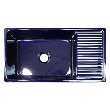 Whitehaus WHQD540-BLUE Whqd540-Bluelarge Quatro Alcove Reversible ...