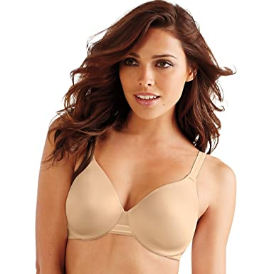 be7585e3f5 Bali Womens One Smooth U Smoothing   Concealing Underwire(3W11)-Soft Taupe-