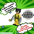 Kids Corner Productions - Super Heroes Figures 9 Set Mini Figures Party Bag with Batman, Spiderman, IronMan, Thor, SuperMan, Wolverine, Captain America, Hawkeye and The Hulk by Kids Corner Productions®