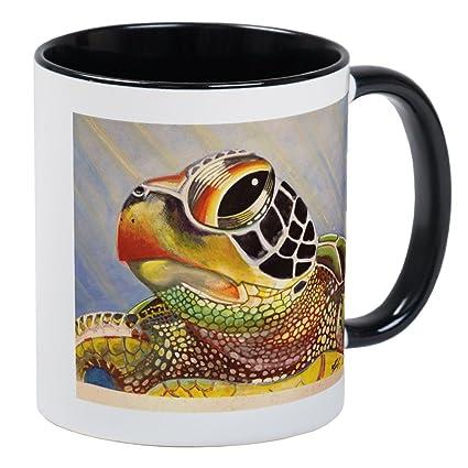 b0f31fd86db Amazon.com: CafePress - Sea Turtle Mugs - Unique Coffee Mug, Coffee ...