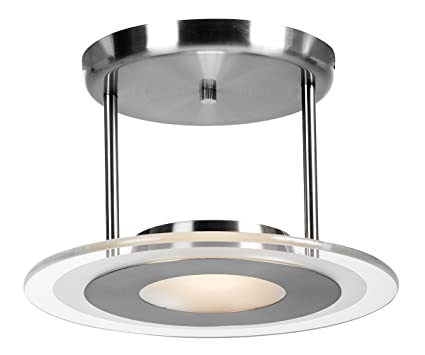 contemporary 9 helius lighting.  Helius Access Lighting 50481BSCFR Helius Semi Flush Ceiling Light Intended Contemporary 9 O