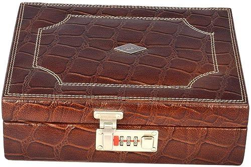 aefb52e88 Jewellery Vanity Single Tray Box: Amazon.ae: Laveri Leather