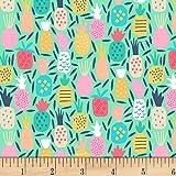 Dear Stella Designs Life's A Beach Pineapple Dream Multi Fabric by The Yard