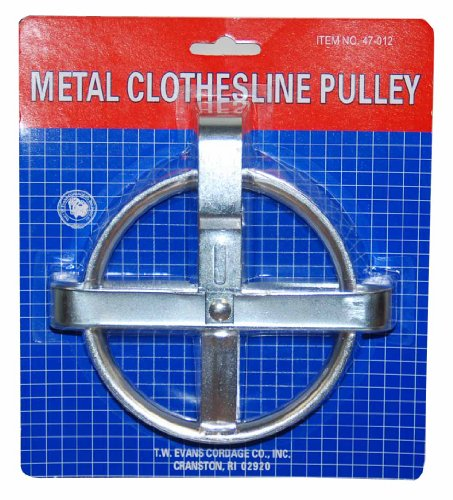 T.W . Evans Cordage 47-012 Metal Clothesline Pulley by T.W . Evans Cordage Co.