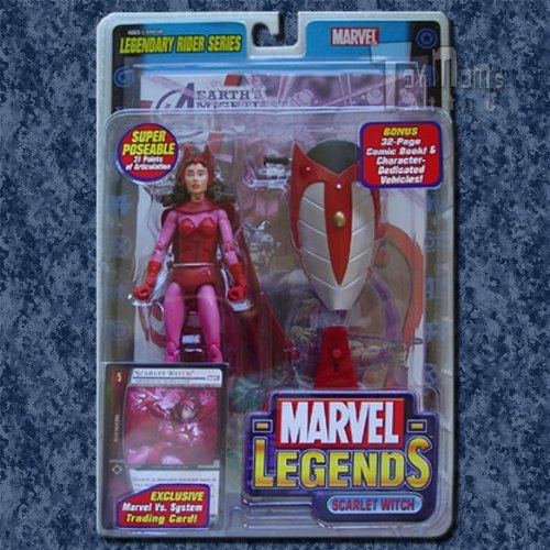 Marvel Legends Series 11 Action Figure Scarlet Witch by ToyBiz