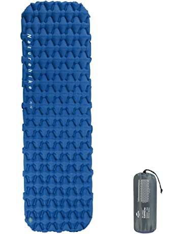 Naturehike Almohadilla para dormir, grosor de 6,5 cm de grosor, almohadilla para