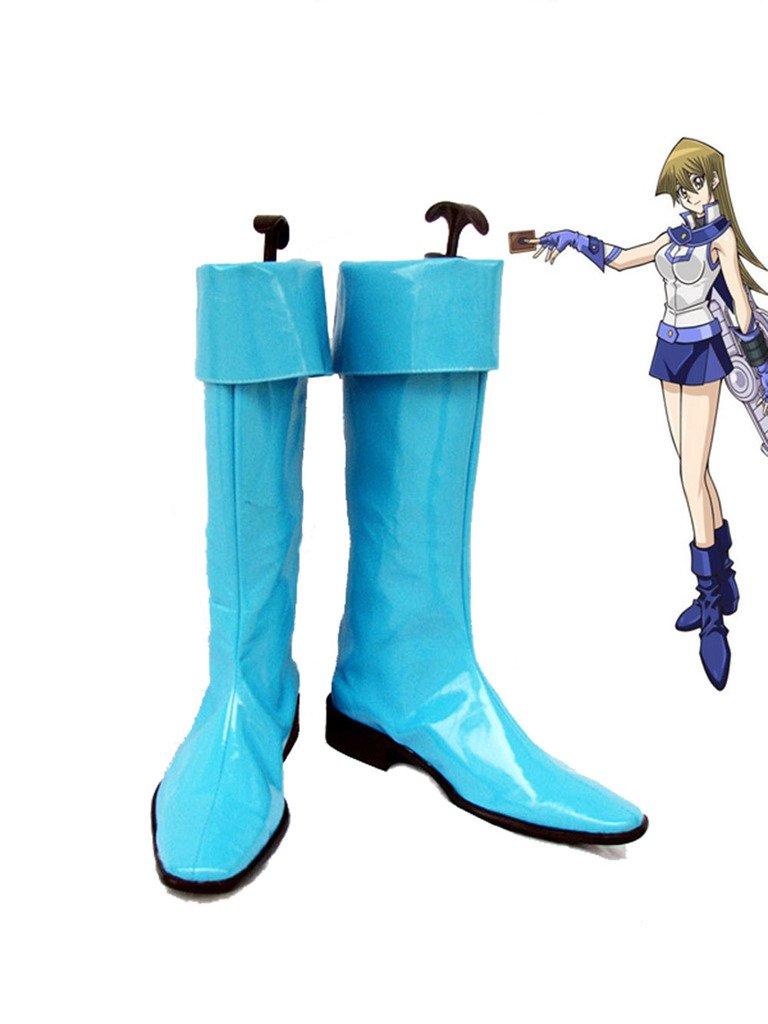 Yu-Gi-Oh! GX Alexis Rhodes Cosplay Shoes Boots Custom Made 8.5 B(M) US Female