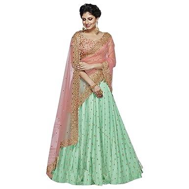 6dd6bbcf9d Image Unavailable. Image not available for. Color: Wedding Bollywood  Designer Gagra Bridal Collection Lehenga chaniya Choli ...