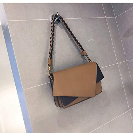 fb264bd3ffa9 Amazon.com: XLMLJYX Brand Women Shoulder Bag Designer Irregular ...