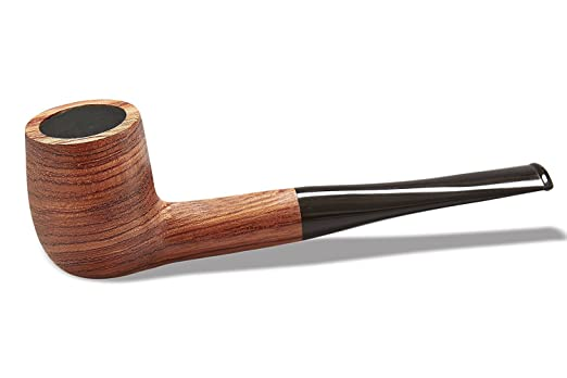 Edwardian Men's Accessories Tobacco Pipe Set Free Boy Handmade Wooden Straight Stem Smoking Pipe with Accessories (Filter Elements Filter Balls 3 in 1 Scraper Pipe Cleaners Pipe Tip... $21.99 AT vintagedancer.com