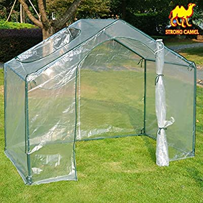 Strong Camel 5.9' x 3.5' x 5' New Warm Green House Plant Flower Gardening Greenhouse