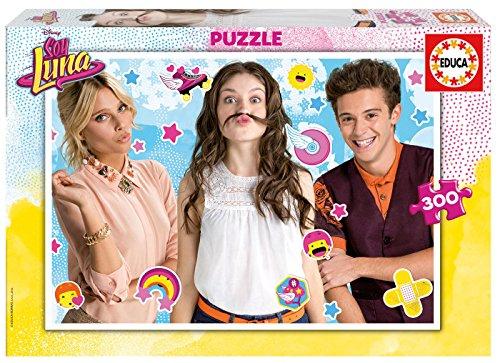 Soy Luna y Amigos Disney Puzzle 300pz Original Official Lisenced (Ala Mona)