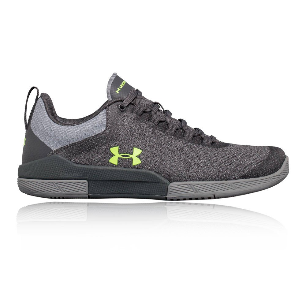 Under Armour Women's Charged Legend Hypersplice Sneaker, Rhino Gray (100)/Steel, 8.5