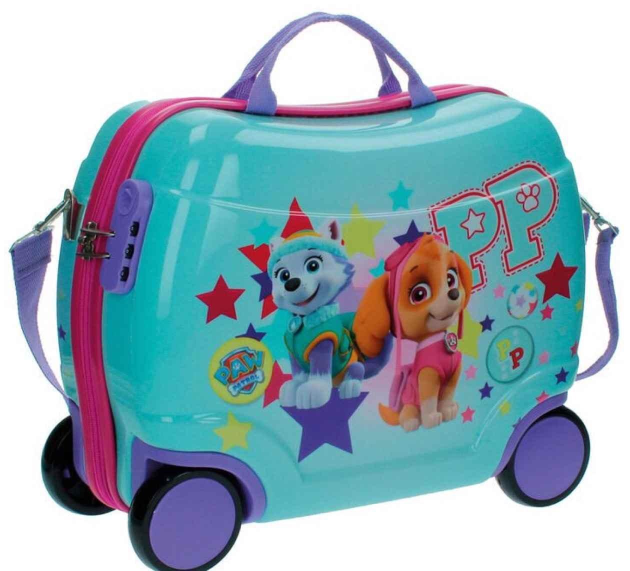 Paw Patrol Sitzkoffer Kindergepäck, 27.88 Liter, Blau