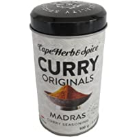 Curry Originals, Madras Curry Rub Seasoning, 100g