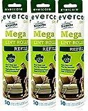 Evercare Pet Mega Roller 50-Layer Refill, Pack of 3