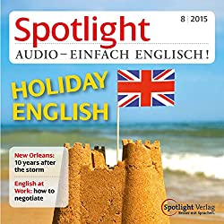 Spotlight Audio - Holiday English. 8/2015