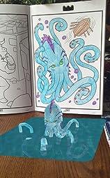 Customer reviews crayola color alive action for Crayola color alive action coloring pages mythical creatures