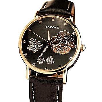 Amazon.com: FAVOT - Reloj de pulsera para mujer, diseño de ...