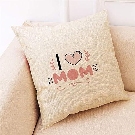 LEEDY_Pillow Case Leedy - Funda de cojín para el día de la ...