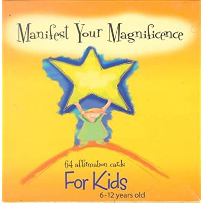 Manifest Your Magnificence (64 Affirmation Cards for Kids 6-12 Years Old): Susan Howson, Mike Polito: Toys & Games