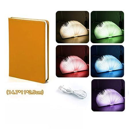 Led luz del Libro Creativo Plegable Libro de la luz del tirón de ...
