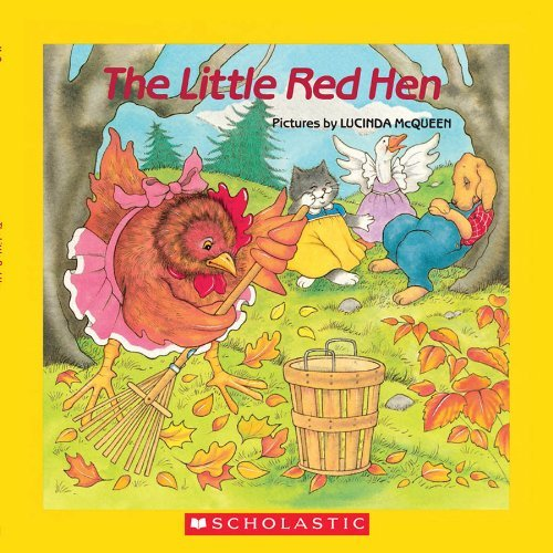 Little Red Hen: Book and CD by Lucinda McQueen (September 01,2007) (The Little Red Hen By Lucinda Mcqueen)