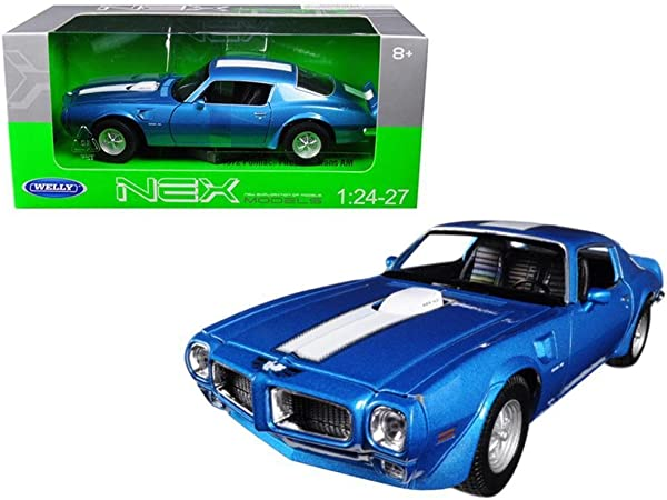 Blitz envío Pontiac Firebird Trans Am 1972 Welly modelo auto 1:18 nuevo embalaje original /&