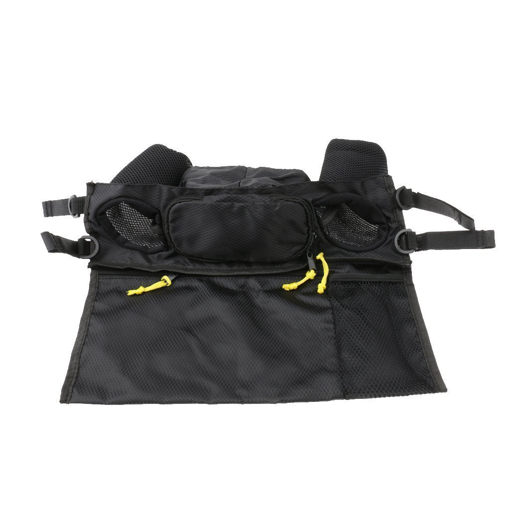 Little Sporter Organiser Multi Functional Bag Buggy Pushchair and Stroller Baby Buggy Organiser Storage Bag With Zip Pocket And Purse Black