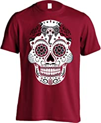 America s Finest Apparel Alabama Sugar Skull Mens c554e2719