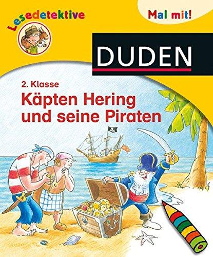 Lesedetektive Mal mit! - Käpten Hering und seine Piraten, 2. Klasse