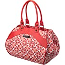 Petunia Pickle Bottom Wistful Weekender Bag, Fire Flower Fields