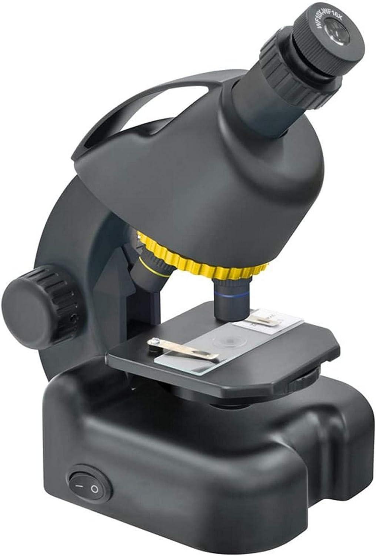NOSSON Microscopio Infantil American National Geographic Boy Mini Science Experiment Set Microscopio De Juguete Pupilas Xxpp