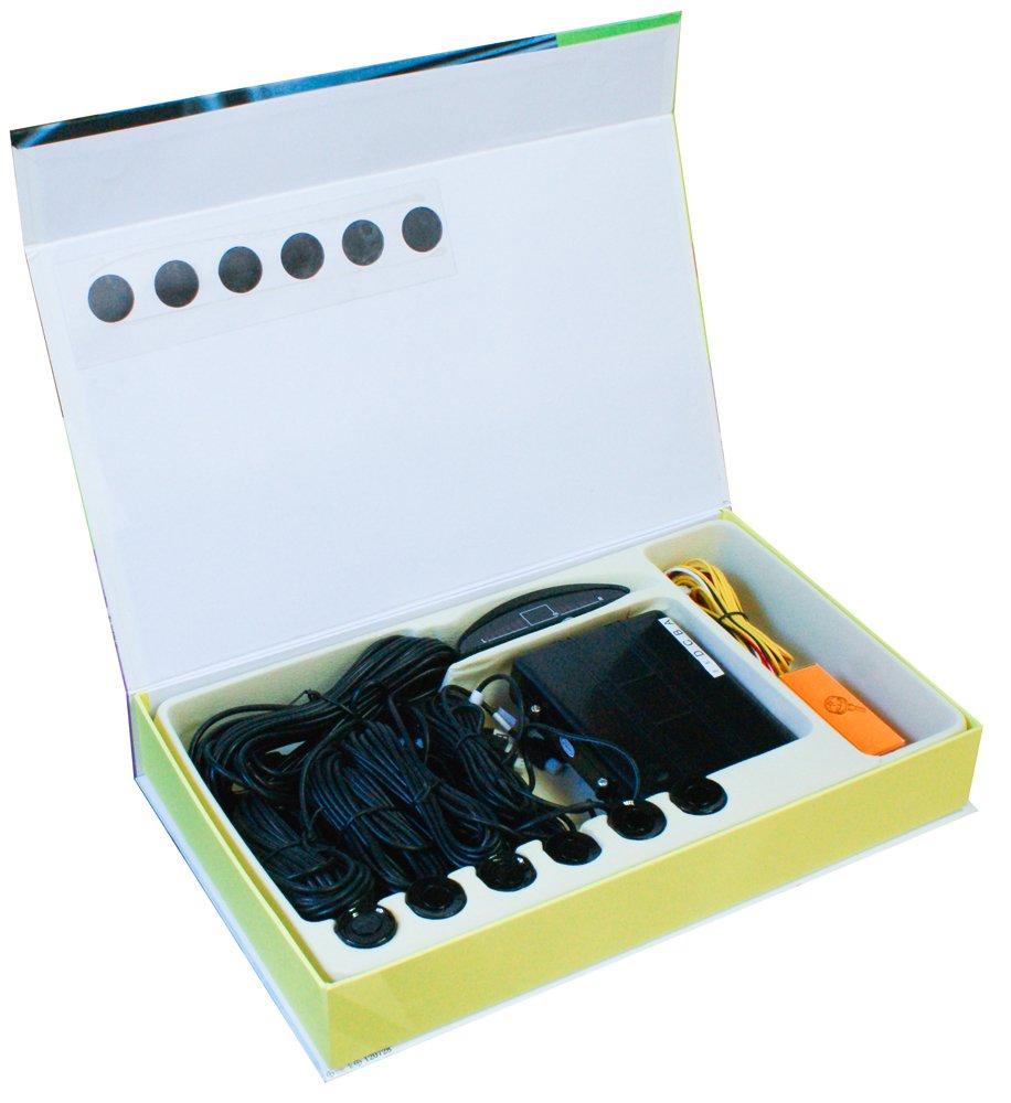 CORA 000120729 Fast Parking 6 Sensori di Parcheggio per Auto, 12 V Cora S.p.A