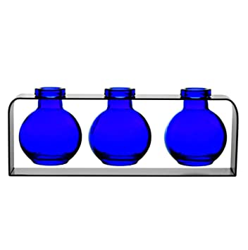 Amazon Small Glass Vases Colored Bottles Decorative Glass