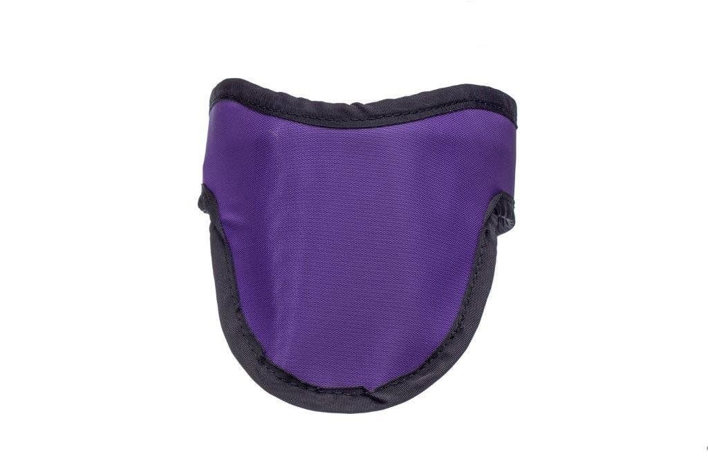Red Thyroid Shield Light Weight Radiation Protection with 0.5mm Pb Lead Equivalency
