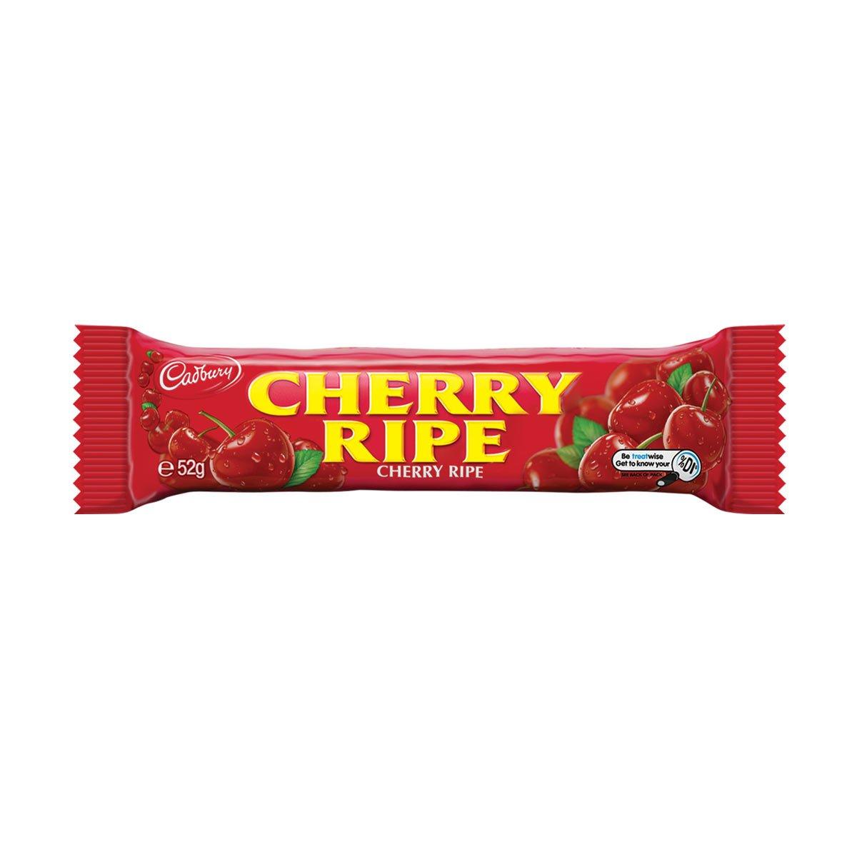 Cadbury Cherry Ripe Chocolate Bar 52 G