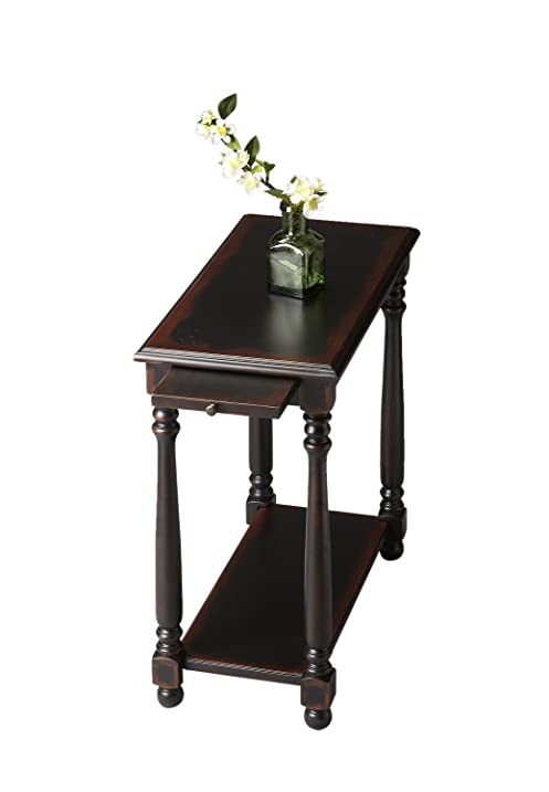 Bon ChairSide Table Midnight Rose Moderate Furniture