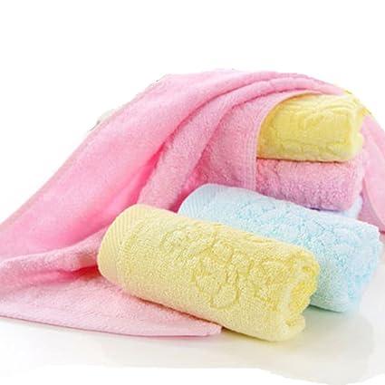 iceko Ultra suave bebé toallas de baño toallitas 100% natural de bambú de perfecto para